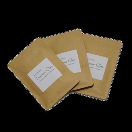 Toyama Clay Powder 30gX3袋