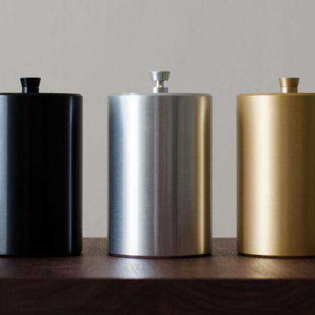 canister - S -gold- / -black-