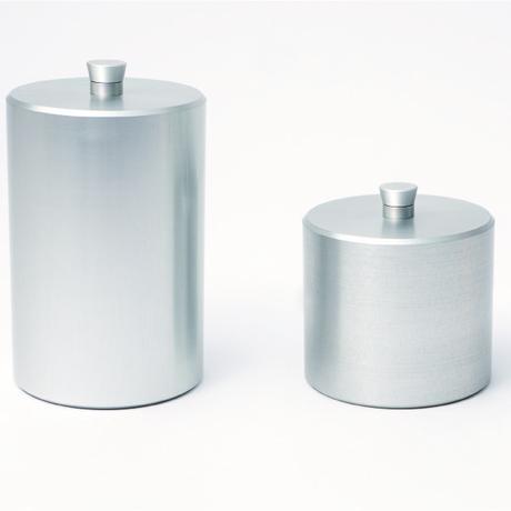 canister - S  half  -white- / -black- / -gold-
