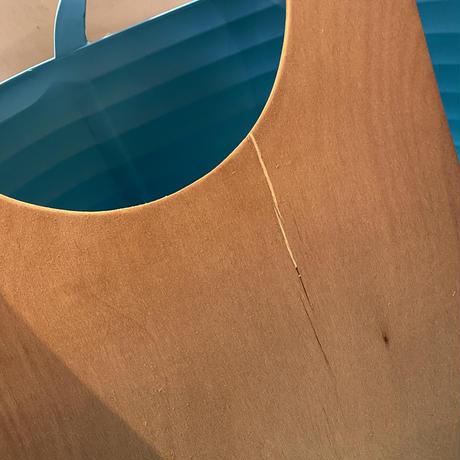 上から入る猫トイレ 木製天板【訳あり】