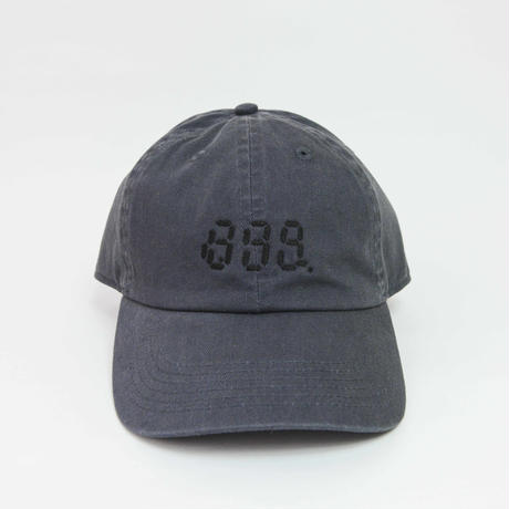 88MILES AN HOUR CAP [CHARCOAL GRAY] /8otto