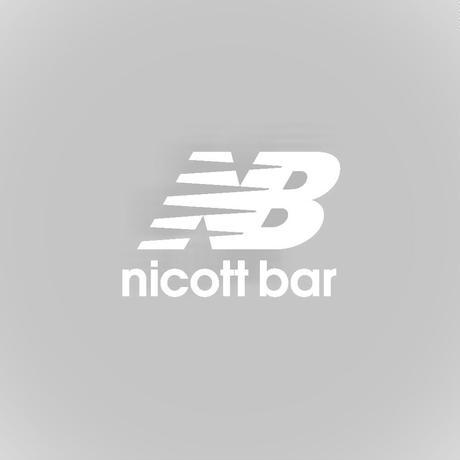 【期間限定受注販売】NB-LOGO Hoodie [ASH] /NICOtt bar 【12月28日〜1月8日まで】