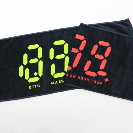 88 MILES AN HOUR TOWEL /8otto