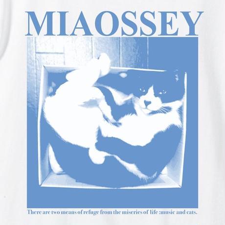 【支援企画グッズ】MIAOSSEY TEE [BLUE/WHITE] /NICOtt bar【来店時限定プレゼント付き】