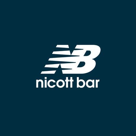 【期間限定受注販売】NB-LOGO Hoodie [NAVY] /NICOtt bar【12月28日〜1月8日まで】