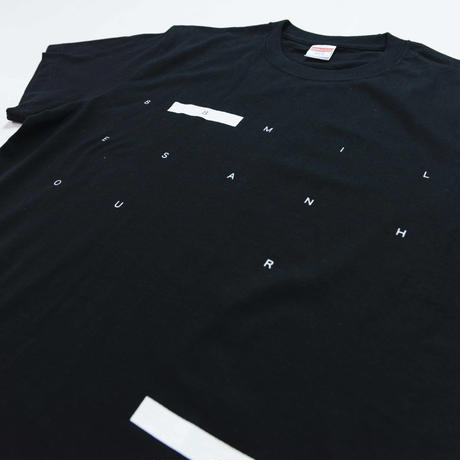 88 MILES AN HOUR TEE [BLACK] /8otto