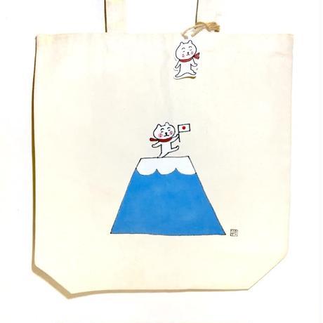 トートバッグ(原画)  富士山