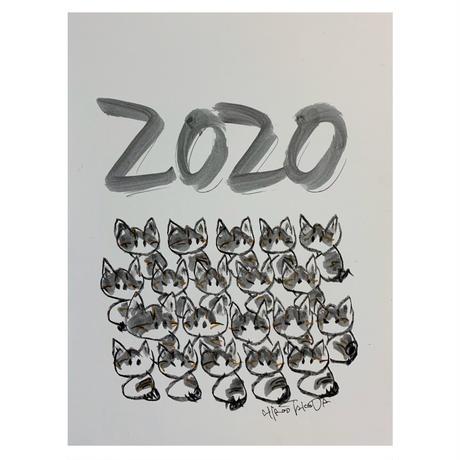 2020年ツインズ猫カレンダー