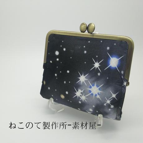 がまぐち二つ折り財布の型紙&レシピ(12cm角型用)