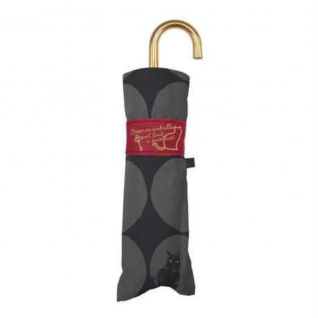 【3/25再入荷】折りたたみ傘│大きい水玉と猫