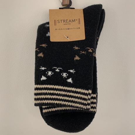 靴下 │ STREAM winter キャットフェイス