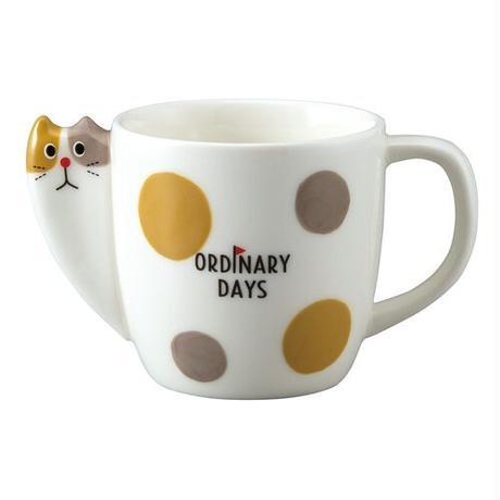 【5/21新入荷】マグカップ|ひょっこりシリーズ *猫型ギフトボックス入り