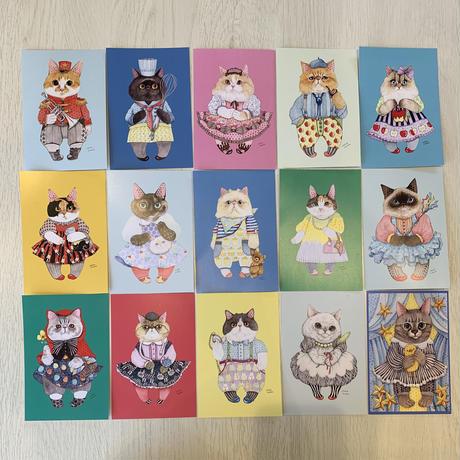 【チャリティー販売】上野ここポストカード