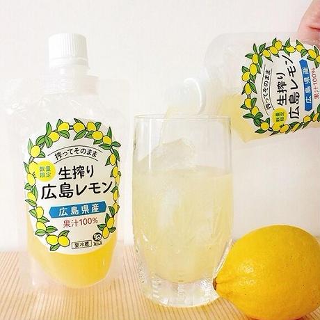 生搾り広島レモン果汁95ml