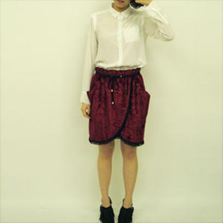 【SALE】フリンジカーテンスカート