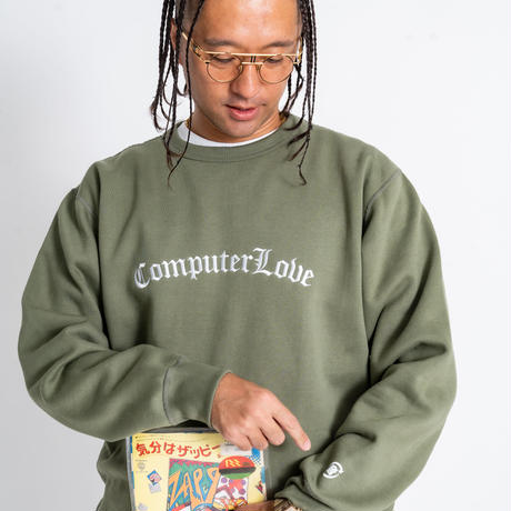 ◆NEMES 207 / NEMES COMPUTER LOVE CREW NECK SWEAT
