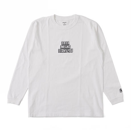 ◆NEMES 217 / NEMES LALA MEANS LONG T-SHIRT