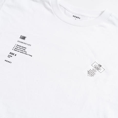 NEMES 209 / NEMES DIAMOND LIFE LONG T-SHIRT
