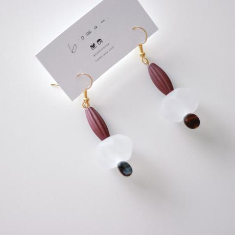 Emily / vintage beads pierce