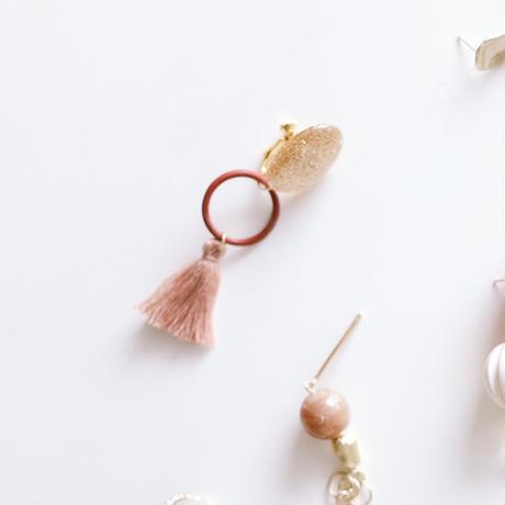 dance - vintage beads earring