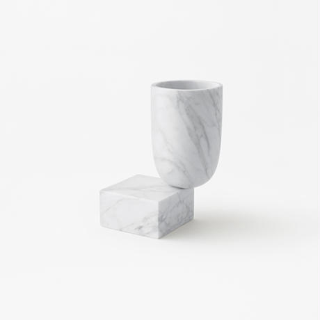 under / vase white (build to order)