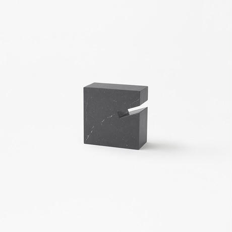 gap / side table S black (build to order)