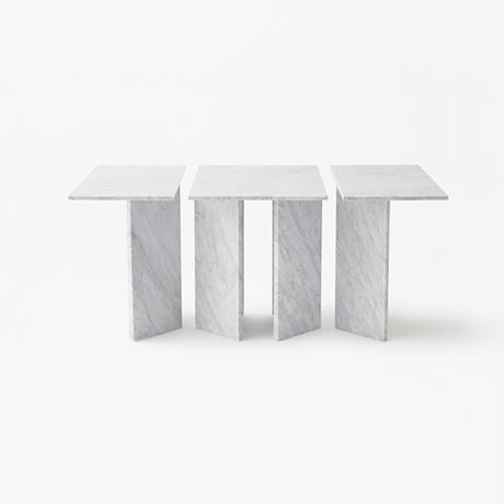 split  / modular table system 60 white (build to order)