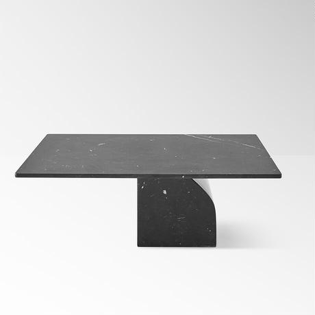 seesaw / side table 30 black (build to order)