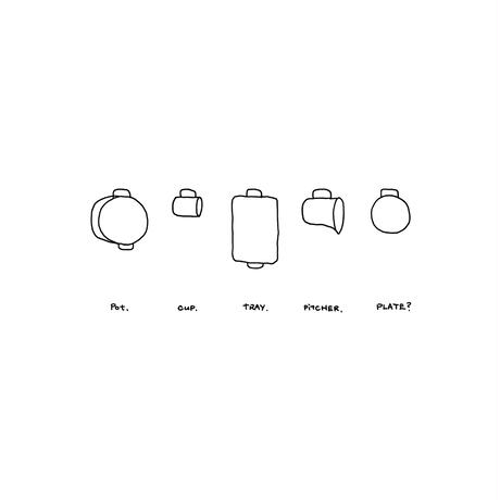 totte-plate / bowl S 5 pieces
