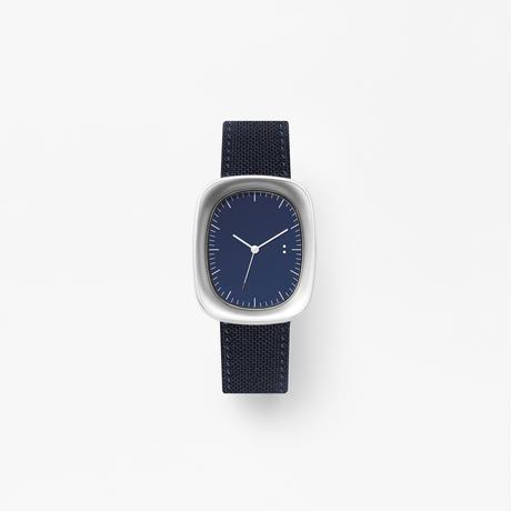 window / wrist watch navy nylon