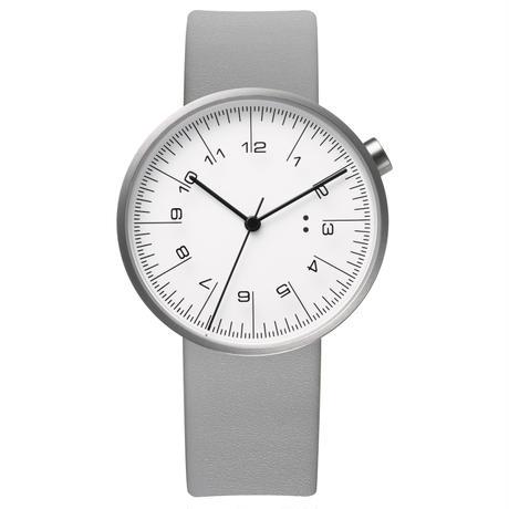 draftsman / wrist watch silver steel