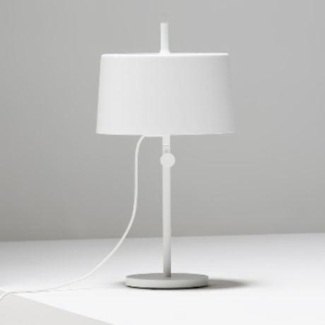 w132 / table lamp cylinder / white