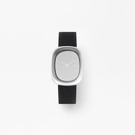 window / wrist watch black nylon