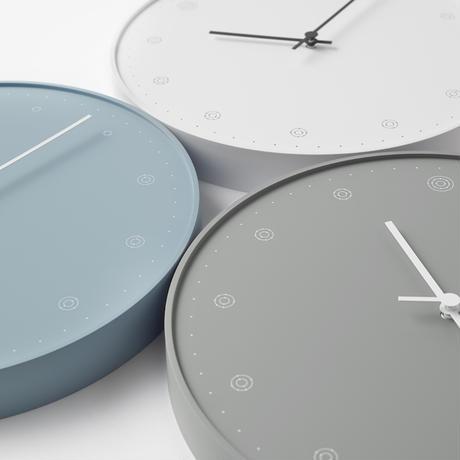 molecule / wall clock