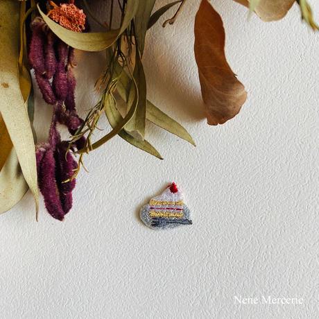 イチゴのケーキ~gâteau fraise~/刺繍アイロンワッペン