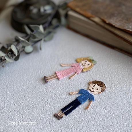 男の子/Liam(リアム)くん/ 刺繍アイロンワッペン