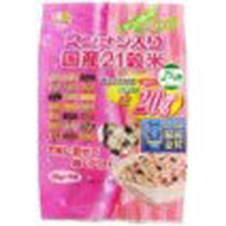 マンナン入り国産21穀米 36g×5包 (1箱12個入×3箱)