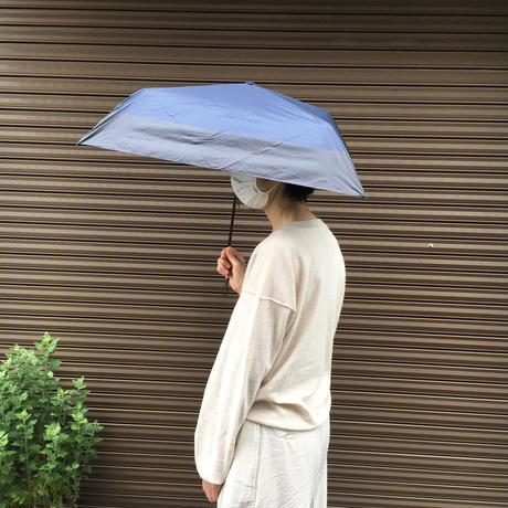 晴雨兼用折りたたみ傘【masu】バイカラー(ブラック/ネイビー)