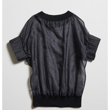 【divka】 Chambray Organdy Pullover