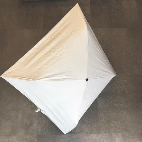 晴雨兼用折りたたみ傘【masu】ホワイト