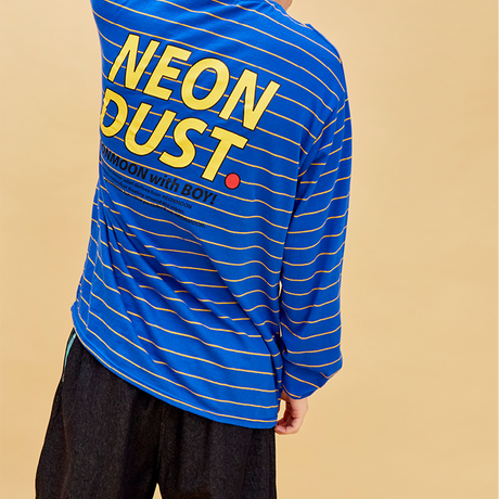 D19S Stripe T-Shirt (Blue)