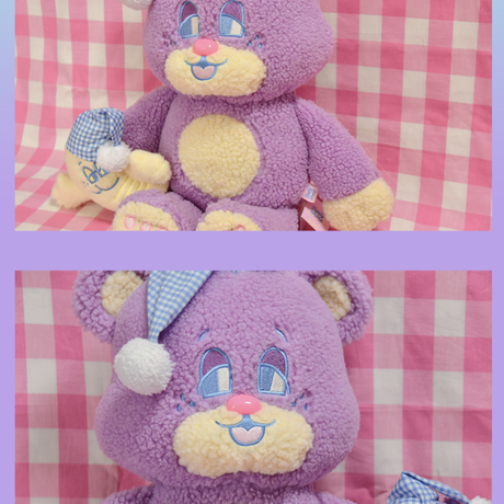 Bubble Teddy Plush (L)