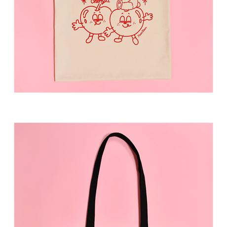 [Sleepy World] CherryzZ Tote Bag