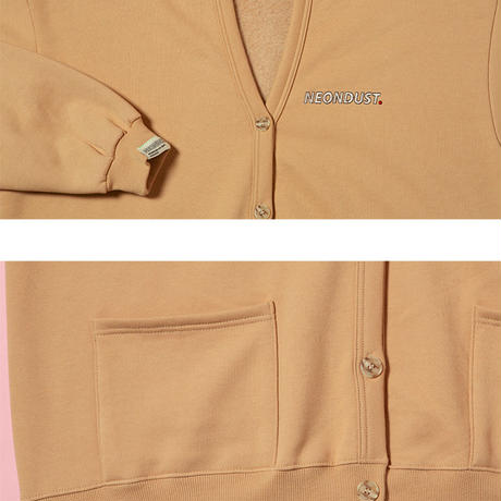 [ND] Cotton Cardigan (Beige)