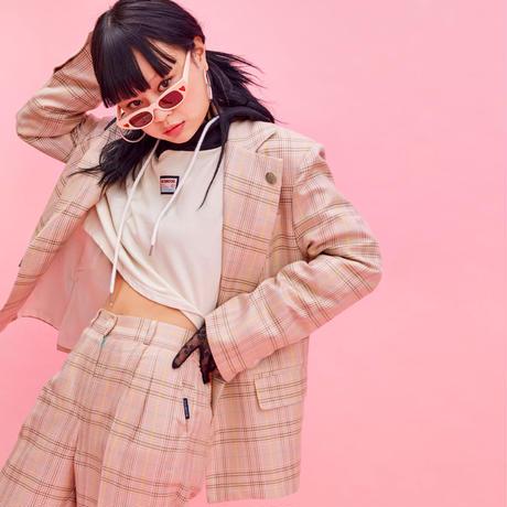 19S Check Jacket (Pink)