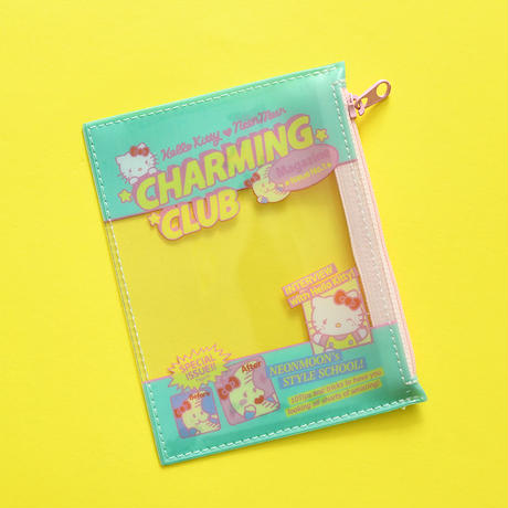 HELLO KITTY CHARMING CLUB Mint Pouch