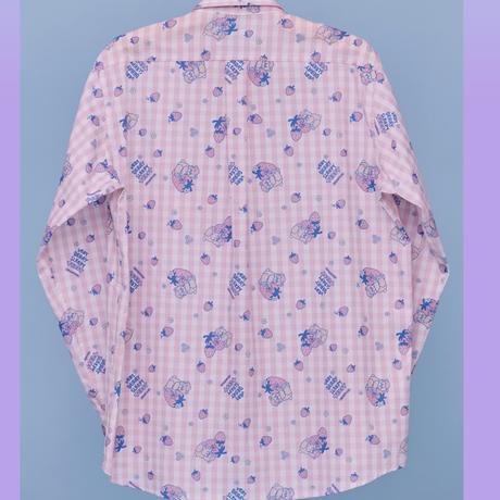 Sleepy Teddy Shirt (Pink)
