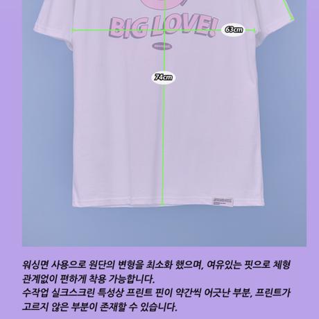 ND 21SS 1/2 T-shirt (White)