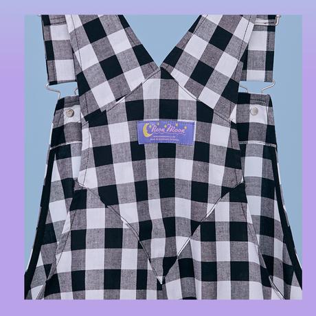[City Otaku] Overalls (Black)
