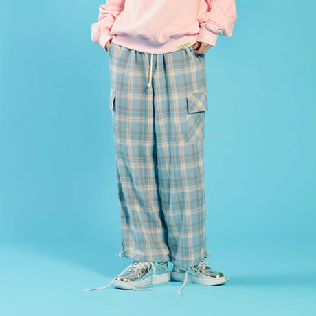 [ND] 20SP Check Pants (Blue)